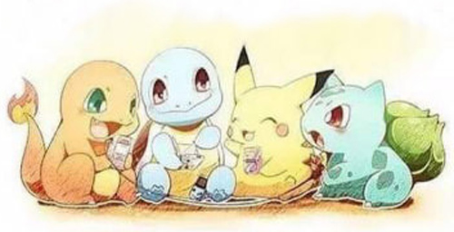 Pokemons together